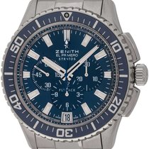 Zenith El Primero Stratos Flyback Steel 45mm Blue United States of America, Texas, Austin