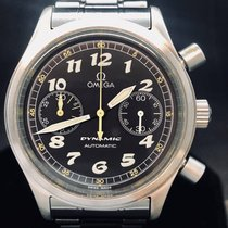 Omega Dynamic Chronograph Ocel 38mm Černá Arabské