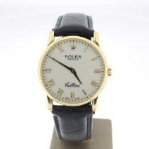 Rolex Cellini Or jaune 32mm Jaune Romain Belgique, Antwerpen