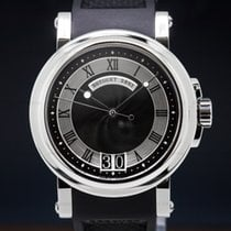 Breguet 39mm Automatic pre-owned Marine