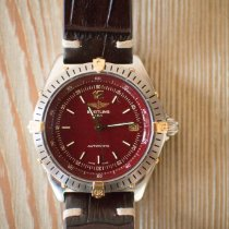 Breitling Antares Steel 39mm Red Arabic numerals