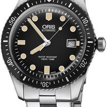 Oris 01 733 7720 4054-07 8 21 18 Steel Divers Sixty Five new United States of America, New York, Brooklyn