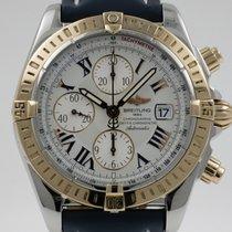 Breitling Chronomat Evolution Goud/Staal 44mm Wit Romeins Nederland, Nijmegen  (www.horloge-sieraden.nl)