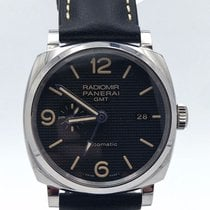 Panerai Radiomir 1940 3 Days Automatic usados 45mm Negro GMT Piel