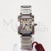 Cartier Tank Française new Quartz Watch with original box and original papers W51008Q3