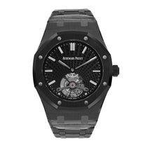 Audemars Piguet Royal Oak Tourbillon Cerámica 41mm Negro Sin cifras