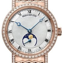 Breguet Classique Rose gold 30mm Mother of pearl