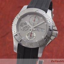 Longines HydroConquest Stahl 41mm Silber