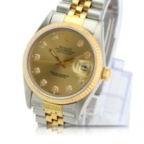 Rolex Gold/Steel 36mm Automatic 16013 pre-owned