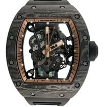Richard Mille Carbon 49.9mm Manual winding RM055 new