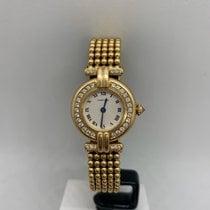 Cartier 1980 Very good Yellow gold 24mm Quartz