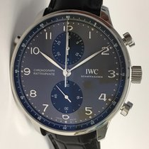 IWC Portugieser Chronograph 371216 neu