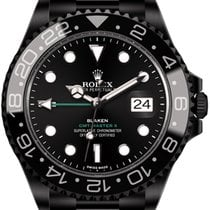 Rolex GMT-Master II (black, DLC) by Blaken