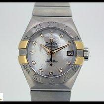 Omega Constellation,  automatic chronometer, 11 diamonds