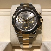 Rolex Daytona Steel and Gold B&P