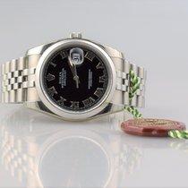 Rolex DateJust 116200 VERKLEBT / NOS Jubilearmband Rehaut - Box