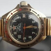 Vostok Vintage komandirskie Tank orange  orig. Bracelet...