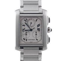 Cartier Tank Francaise Chronoflex chronograph Ref 2303