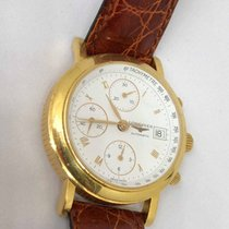 Longines Ernest Francillon 18k Yellow Gold Automatic Chronograph