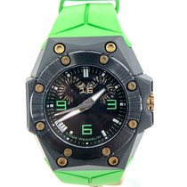 Linde Werdelin 44mm Automatic pre-owned Oktopus Double Date Black