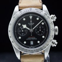 Tudor 79350-0002  Heritage Black Bay Chronograph / SS Deployan...