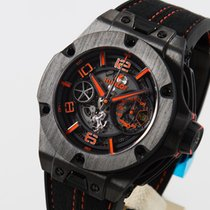 Hublot Big Bang Ferrari Carbon 45mm Transparent Arabic numerals