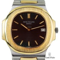 Patek Philippe 3700/001 Gold/Steel 1984 Nautilus 42mm pre-owned