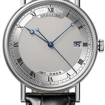 Breguet Classique White gold 38mm Silver Roman numerals United States of America, New York, New York
