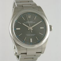 Rolex Oyster Perpetual (Submodel) pre-owned 36mm Steel