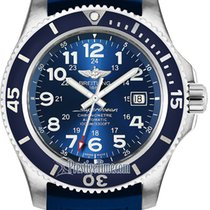 Breitling Superocean II 44 Steel 44mm Blue United States of America, New York, Airmont
