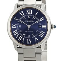 Cartier Ronde Croisière de Cartier Steel 42mm Blue Roman numerals United Kingdom, Budapest