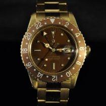 Rolex 1675 Κίτρινο χρυσό 1965 GMT-Master 40mm μεταχειρισμένο