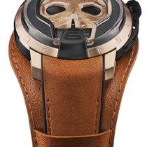HYT Skull Złoto różowe 48.8mm Szary