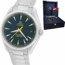 Omega Seamaster Aqua Terra Steel 41.5mm Blue United States of America, New York, Smithtown