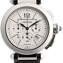 Cartier Steel 42mm Automatic W3108555 pre-owned