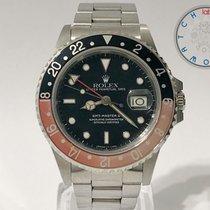 Rolex GMT-Master II Stahl 40mm Schwarz Keine Ziffern Schweiz, Chiasso