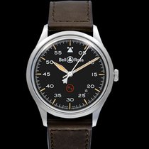 Bell & Ross BR V1 new 2021 Automatic Watch with original box and original papers BRV192-MIL-ST/SCA