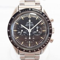 Omega Speedmaster Professional Moonwatch Çelik 42mm Siyah Sayılar yok