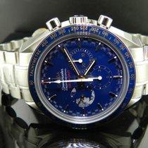 Omega Speedmaster Professional Moonwatch Acero 42mm Azul