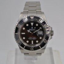 Rolex Sea-Dweller rabljen 43mm Crn Datum, nadnevak Zeljezo