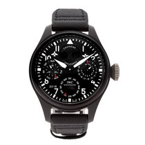 IWC Big Pilot Top Gun Keramiek 48mm Zwart Arabisch