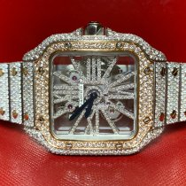 Cartier Santos (submodel) WHSA0007 2019 new