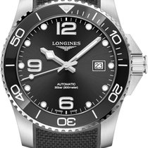 Longines HydroConquest Steel 41mm Black United States of America, Iowa, Des Moines