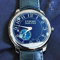 F.P.Journe Tantal 39mm Handaufzug Chronometre Bleu neu