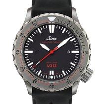 Sinn U212 Steel 47mm Black No numerals
