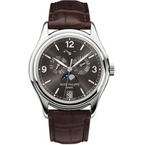 Patek Philippe Annual Calendar White gold 39mm Grey Arabic numerals