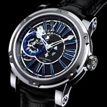 Louis Moinet Metropolis Steel 45,5mm Blue