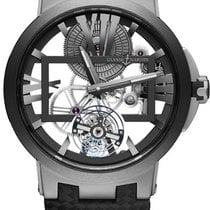 Ulysse Nardin Executive Skeleton Tourbillon Titanium Transparent