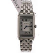 Jaeger-LeCoultre Reverso Classic Medium Duetto Steel 40mm Silver Arabic numerals