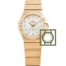 Omega Constellation Quartz nouveau 27mm Or rose